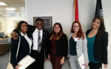 COP Students along with PBA Pharmacy Student meeting with the Legislative Aid of Sen. Bill Nelson (FL).